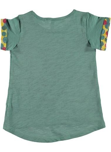 012 Benetton Tişört Yeşil